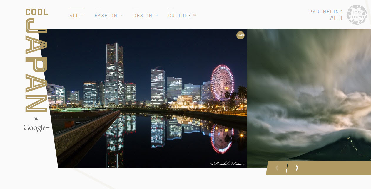 My picture was featured for the 21th time on the cover page of COOL JAPAN on Google+!