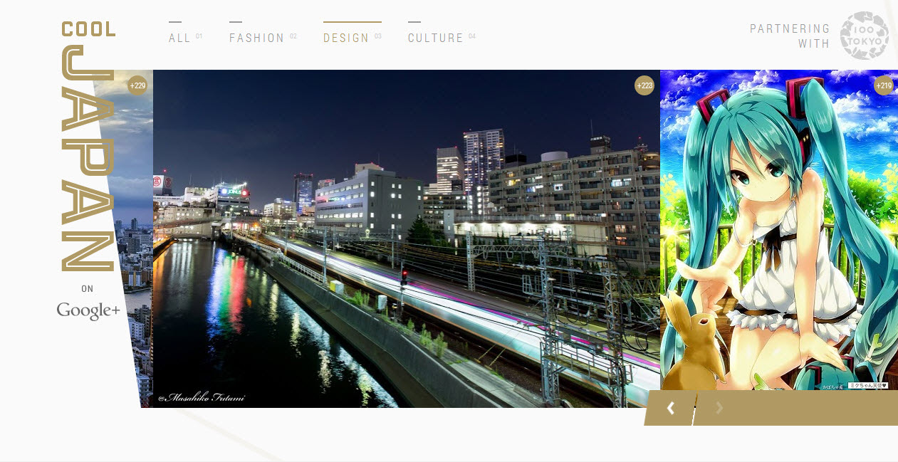 My picture was featured for the 22th time on the cover page of COOL JAPAN on Google+!