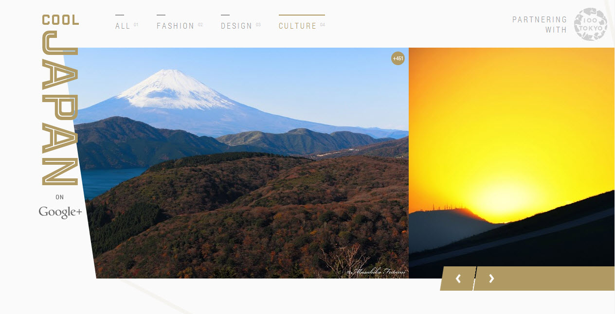 My picture was featured for the 31st time on the cover page of COOL JAPAN on Google+!