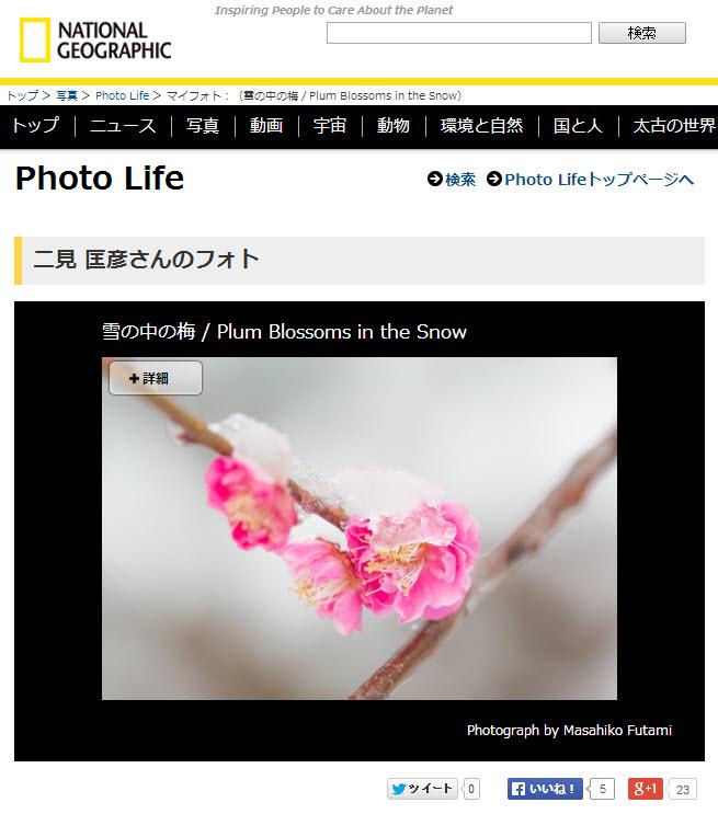 ナショナルジオグラフィック 公式日本語サイト(ナショジオ)本日のオススメの1枚