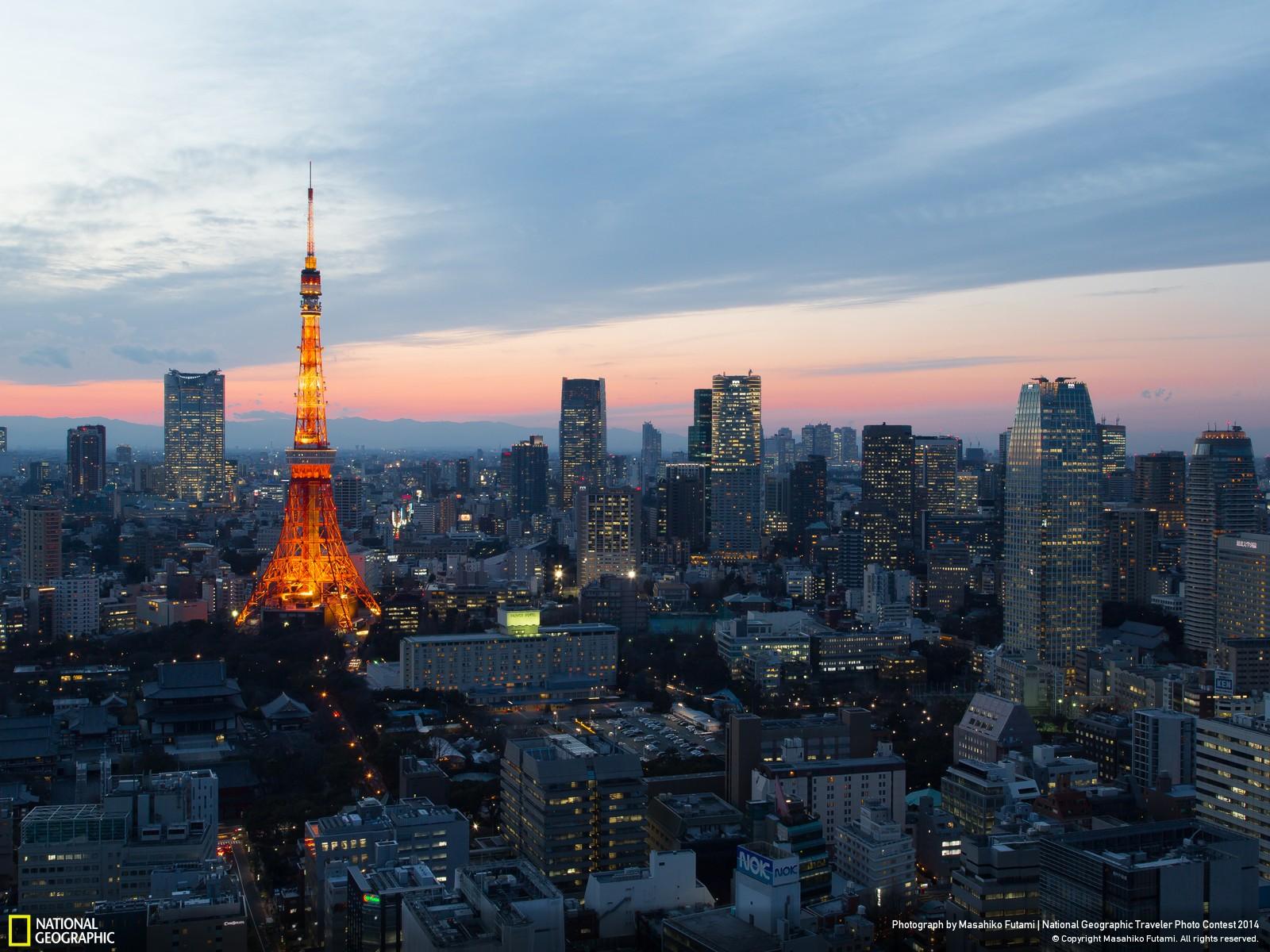 Tokyo Tower at Twilight