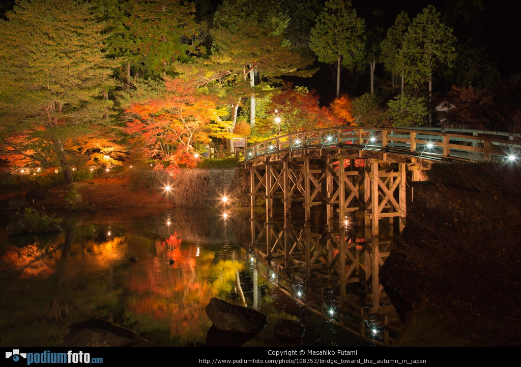 PODIUMFOTO掲載作品 No.3 『Bridge Toward The Autumn In Japan』