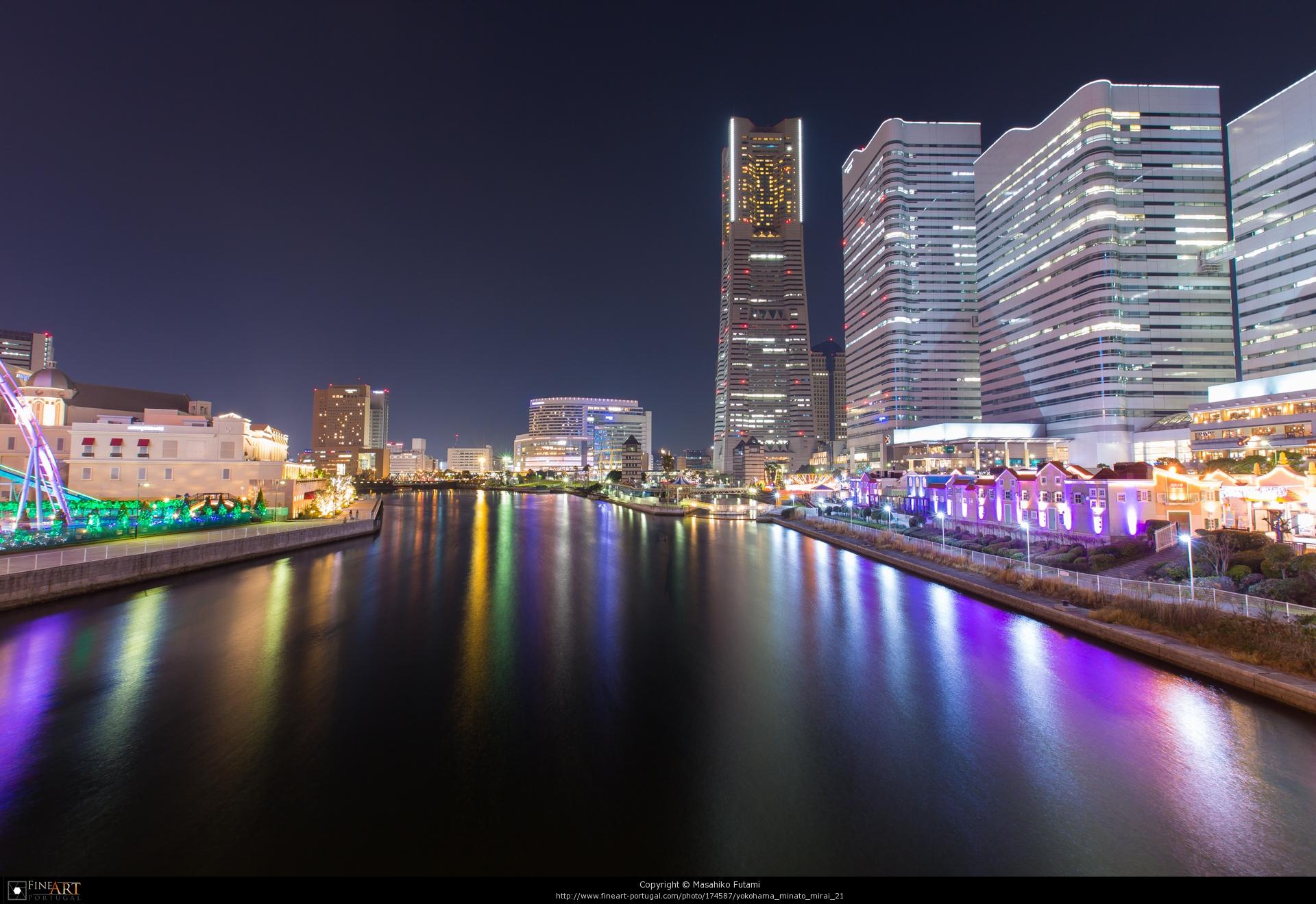 FineArt-Portugal掲載作品 No.4 『Yokohama Minato Mirai 21』
