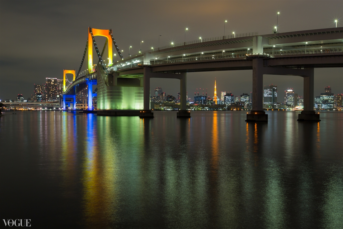 PhotoVogue 掲載作品No.7 『Rainbow Bridge and Tokyo Tower』