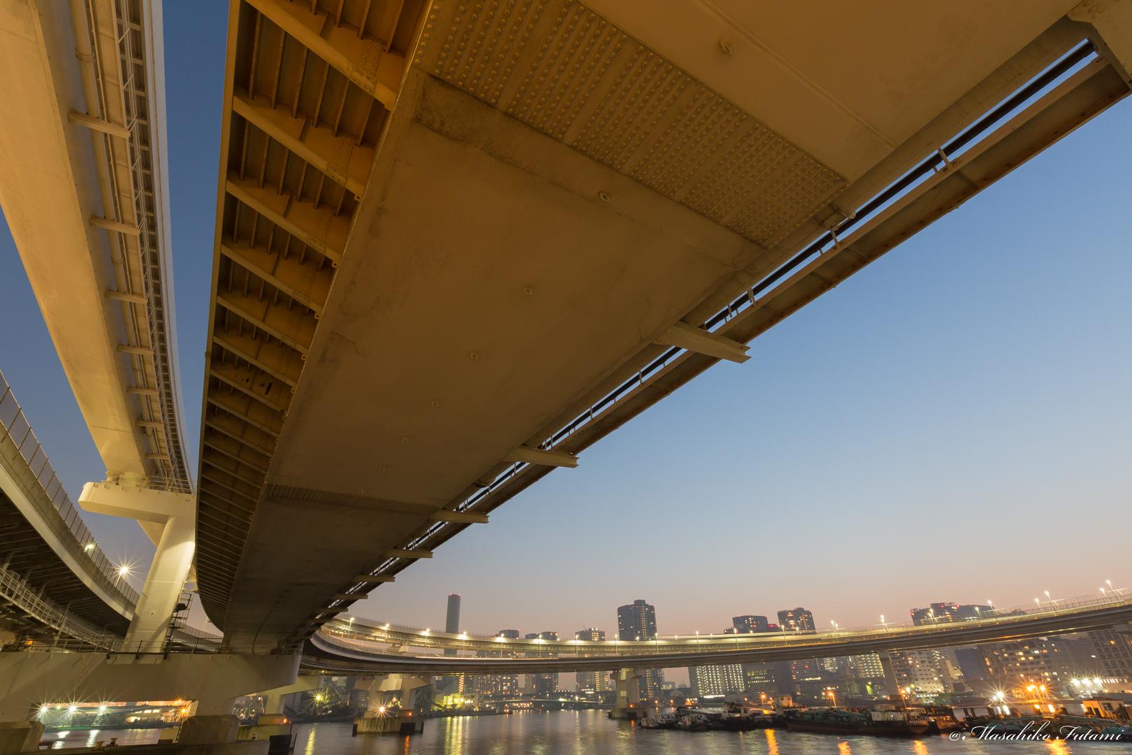 Tokyo Bay at Twilight