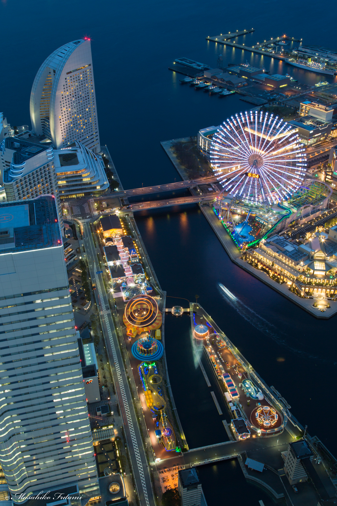 Twilight of Yokohama