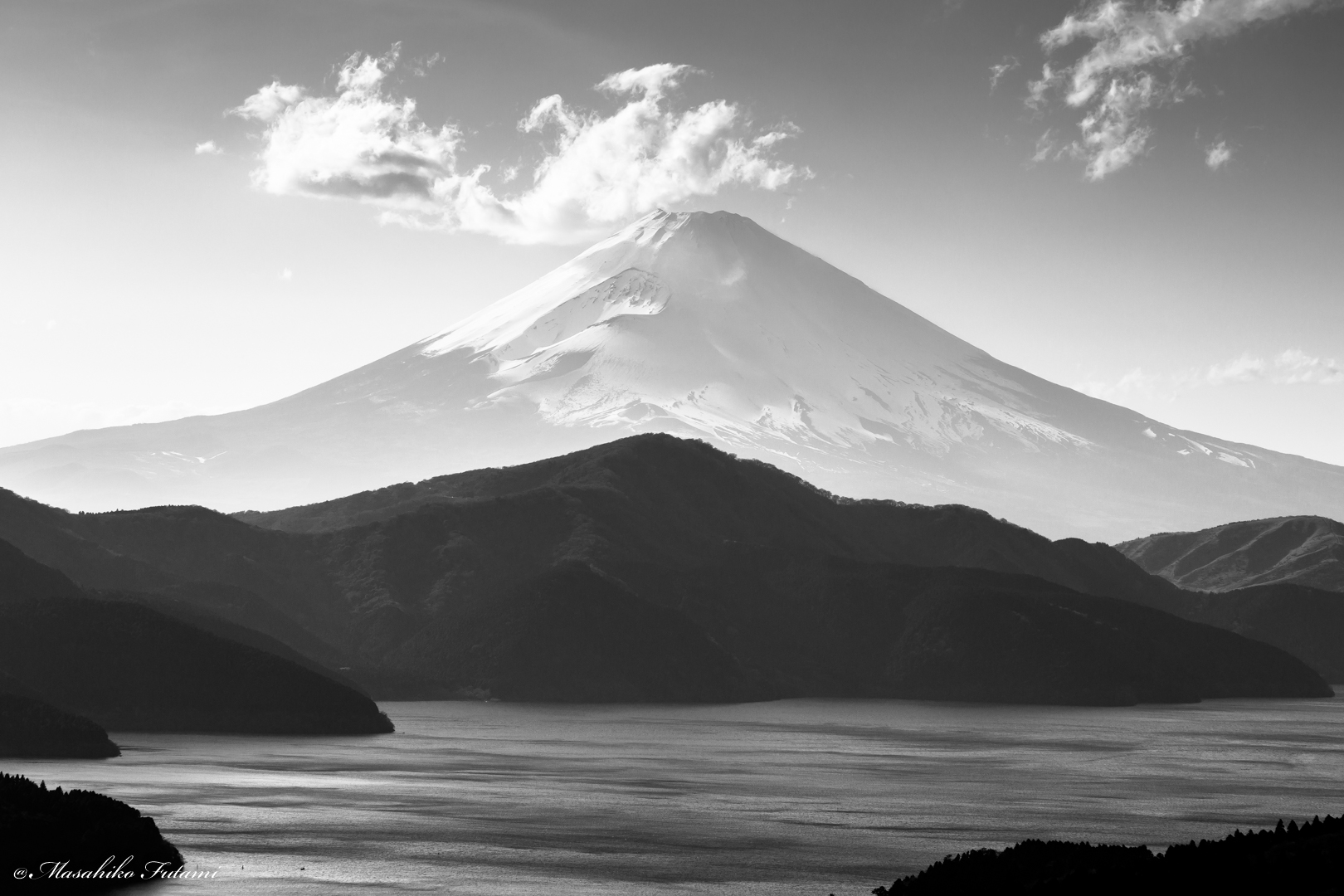 Mt. Fuji of Black and White