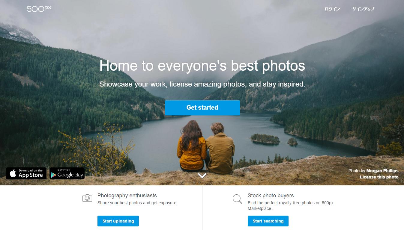 The Premier Photography Community / 500px