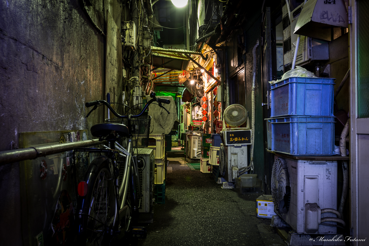 Back Street in Kabukicho