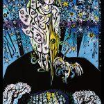 名嘉睦稔さん木版画展『海山神謡 山の神』画業30周年記念へ